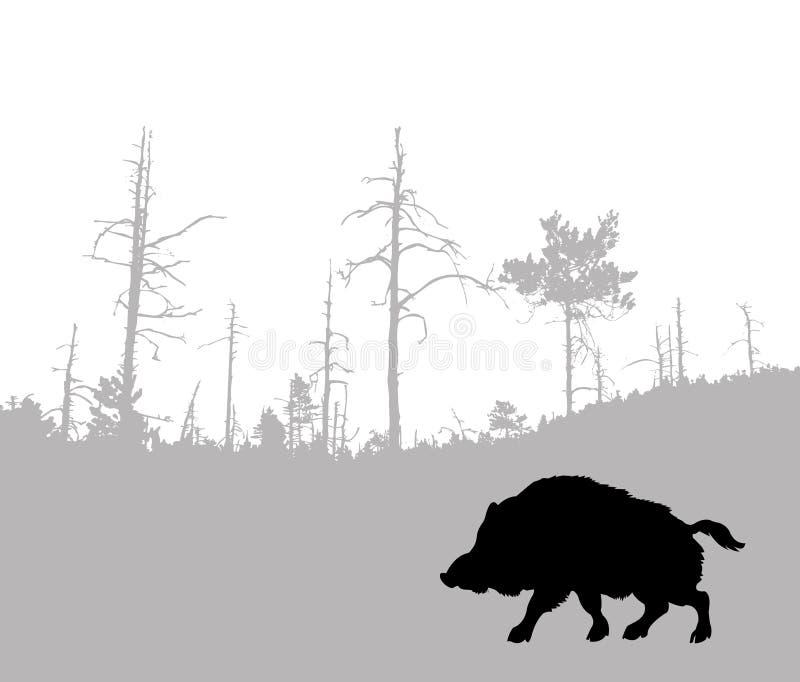 Download Boar stock vector. Image of beast, nature, monster, creative - 12952651