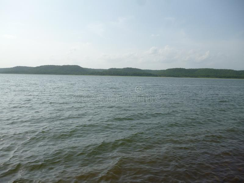 Boar Lake Nagpur in India. This place is Boar Lake Boar Dam in Nagpur India. Specially best place for Picnic Spot. Near by Boar jungle royalty free stock photo