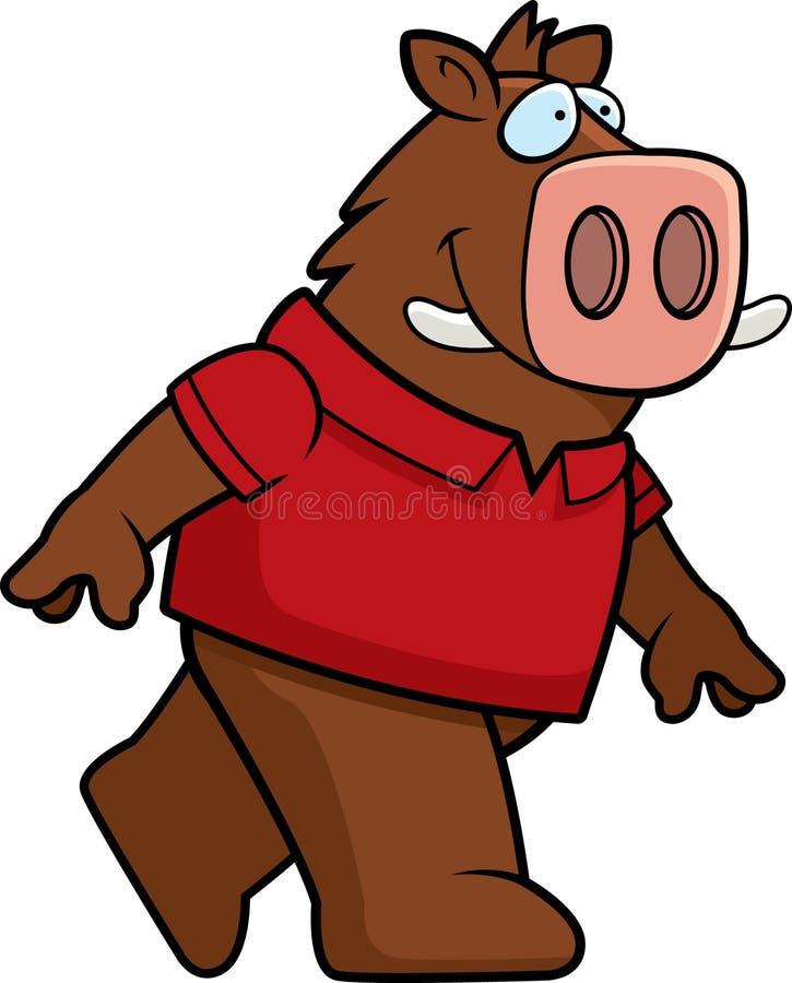 Download Boar Walking stock vector. Illustration of illustration - 10444755