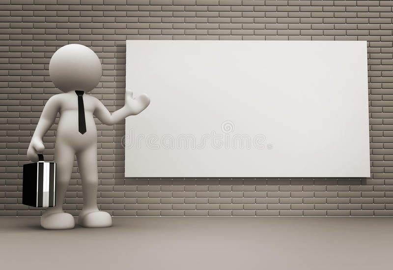 Download Board stock illustration. Illustration of presents, businessman - 23836357