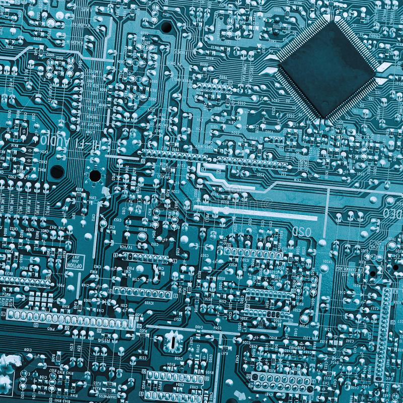 blue circuit board macro picture image 3063742board royalty free stock image