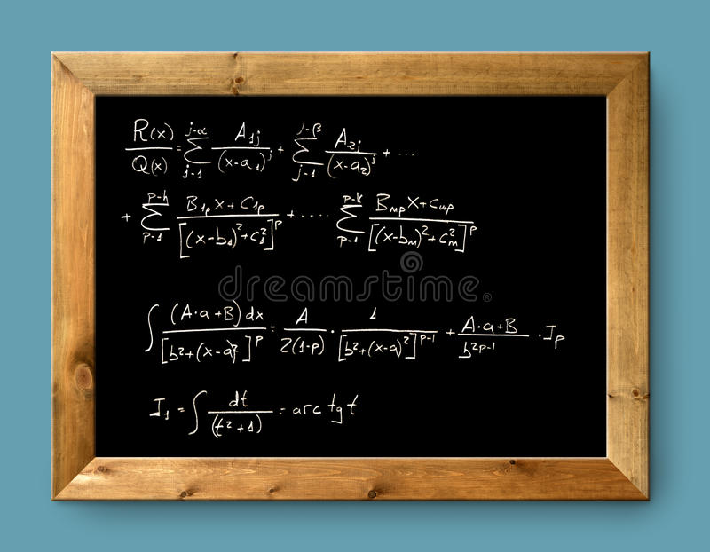 Download Board Black Blackboard Difficult  Formula Math Stock Photo - Image of complex, calculate: 19919288