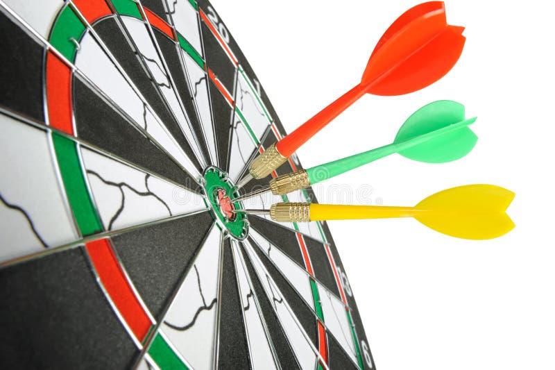 Board for darts.