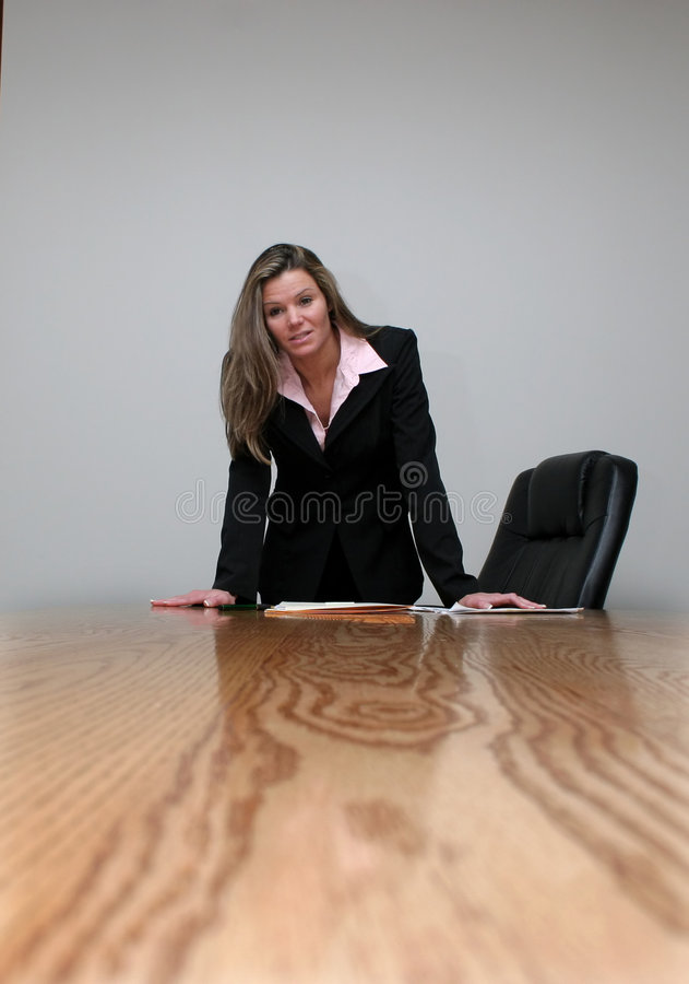 Board Discussion royalty free stock images