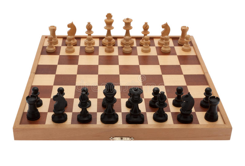 Board game chess stock image