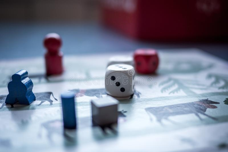 Board game stock photo