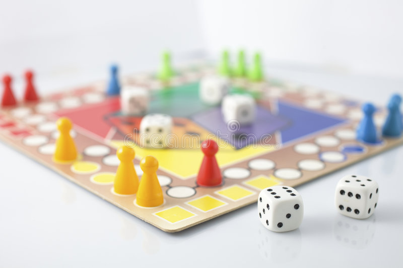 Board games royalty free stock photos