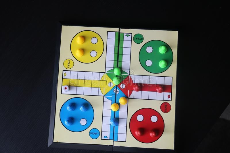 Ludo. Board game. stock photography