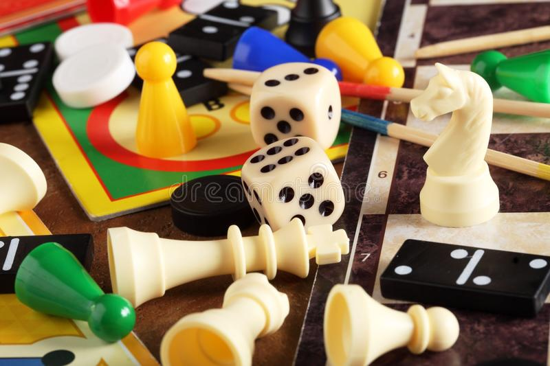 Download Board games stock image. Image of close, activity, equipment - 32329169