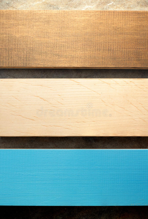 Free Board On Wooden Background Stock Images - 64962484