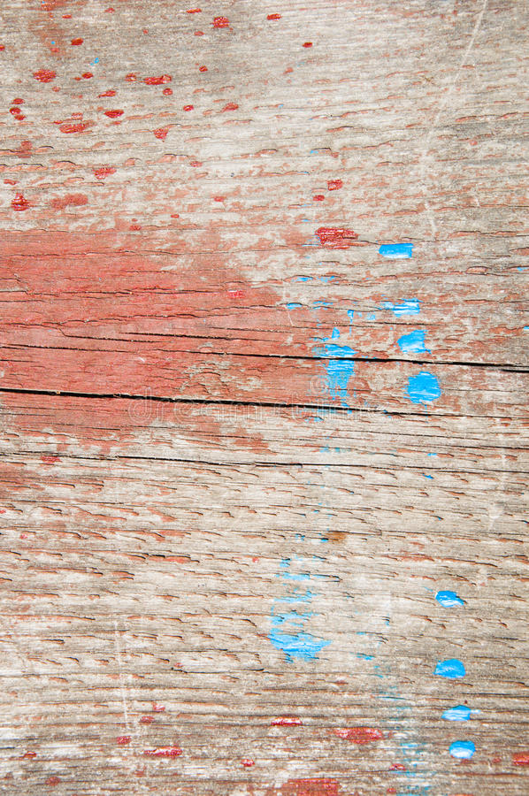 Board with paint royalty free stock images