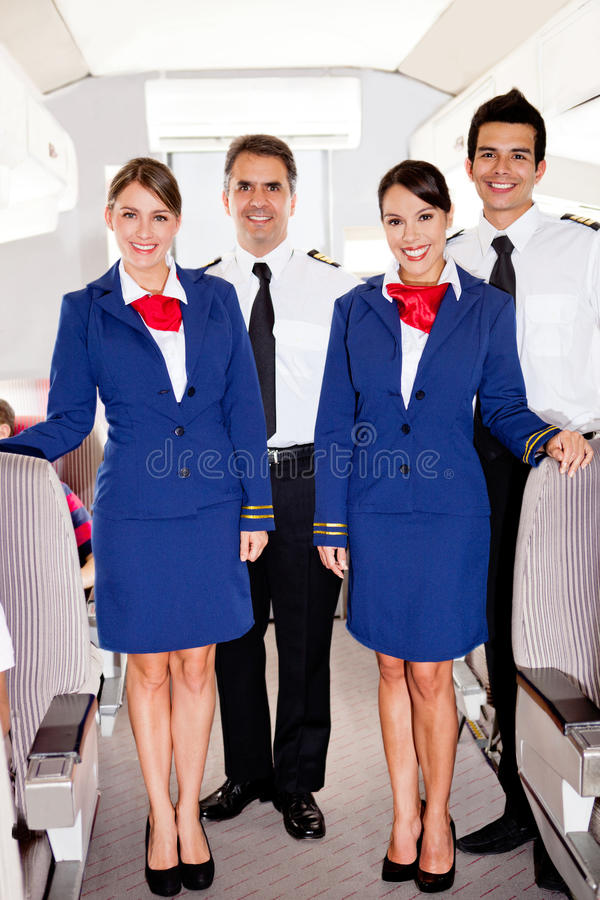 Download On board team stock photo. Image of attendants, friendly - 23717058