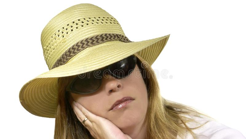 Board Woman Free Stock Image