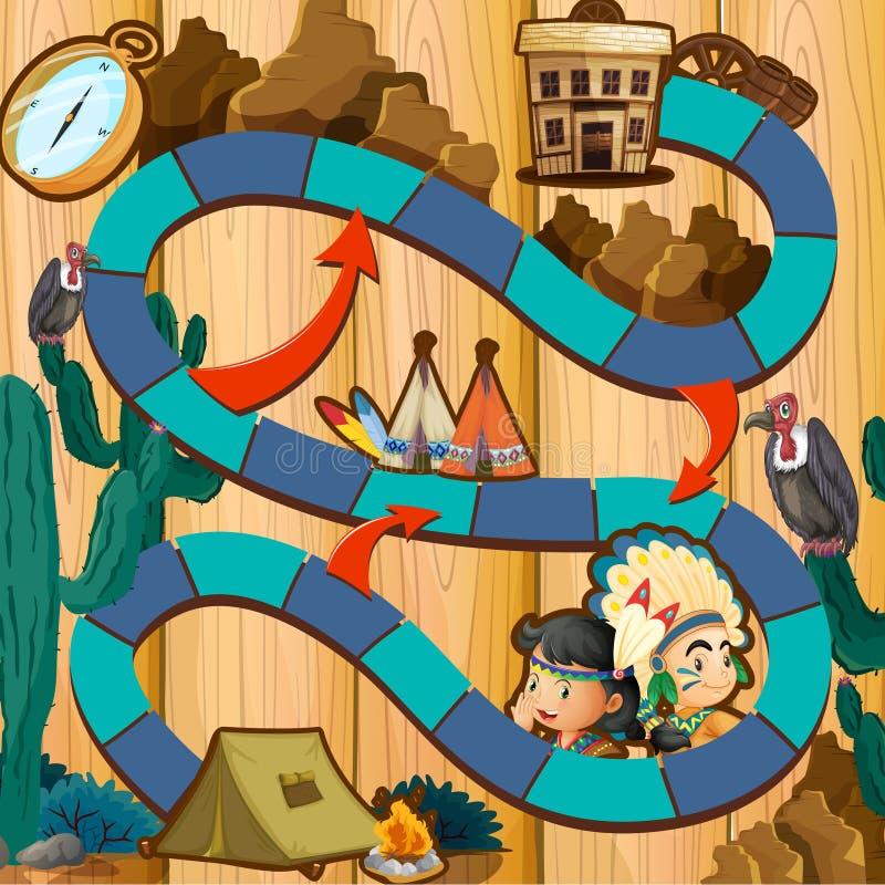 Boardgame ilustracja wektor