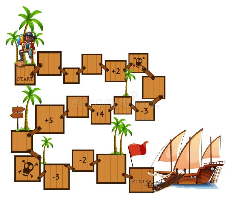 Boardgame royaltyfri illustrationer