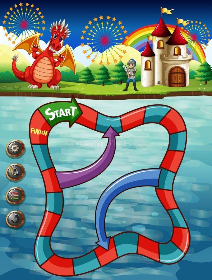 Boardgame illustration libre de droits