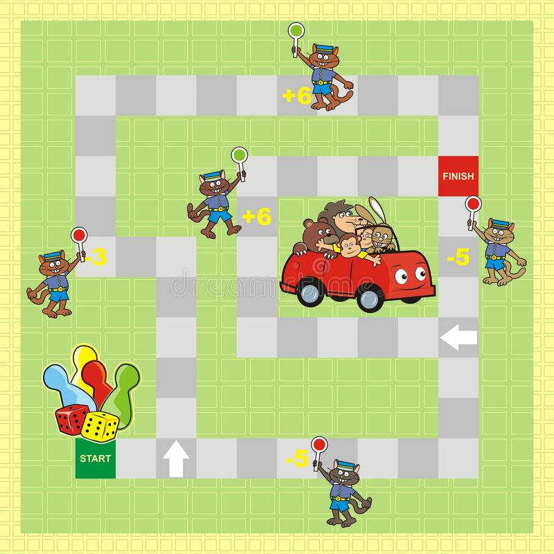 Boardgame απεικόνιση αποθεμάτων