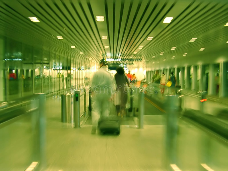 Boarding - Blur stock images