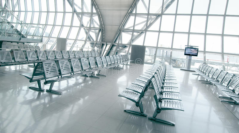 Boarding Gate royalty free stock image