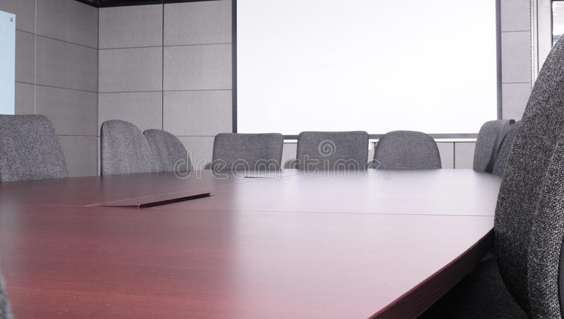 Download Boardroom. stock photo. Image of furniture, modern, angular - 12747586