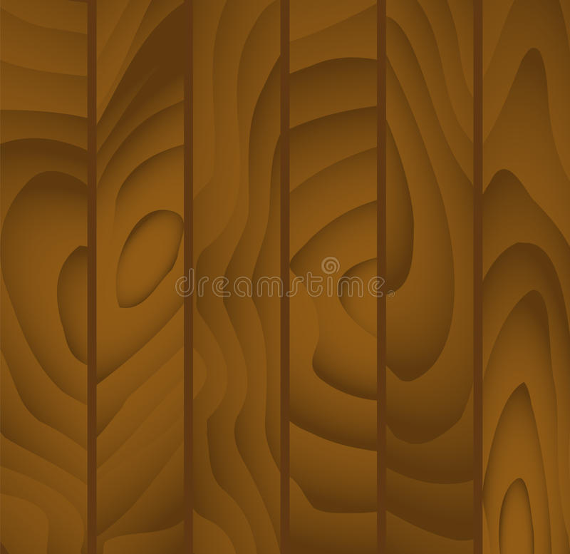 Boards background. Simple vector background of buffed wooden planks textured vector illustration