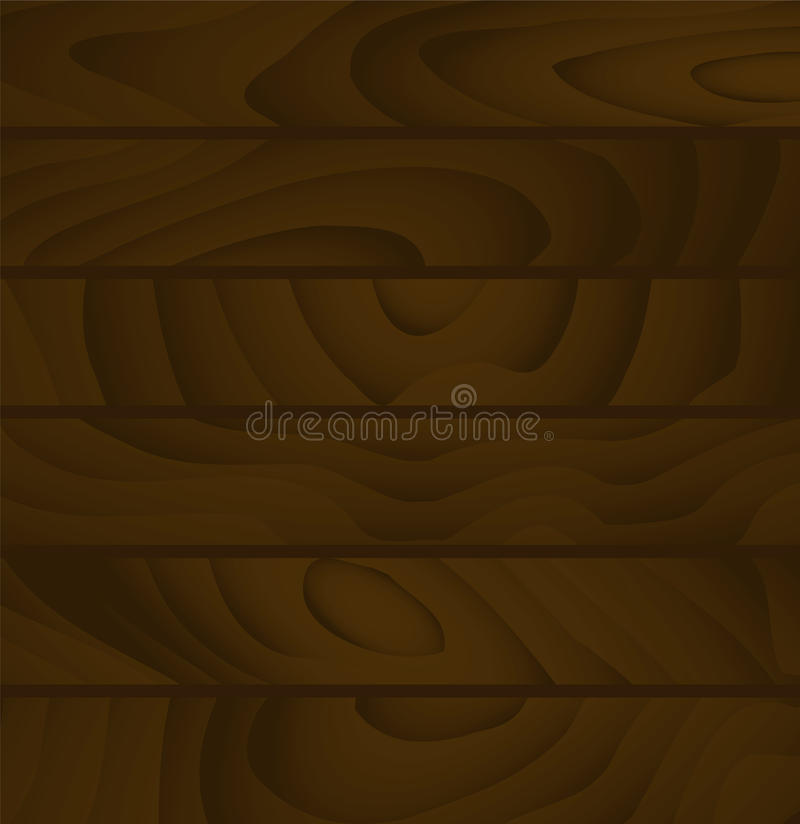 Boards background. Simple vector background of buffed wooden planks textured royalty free illustration