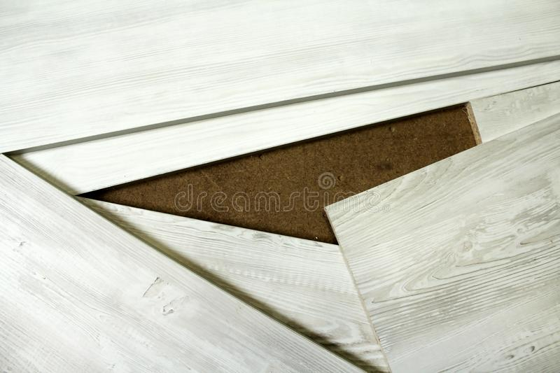 Boards of chipboard as a background. Image stock photos