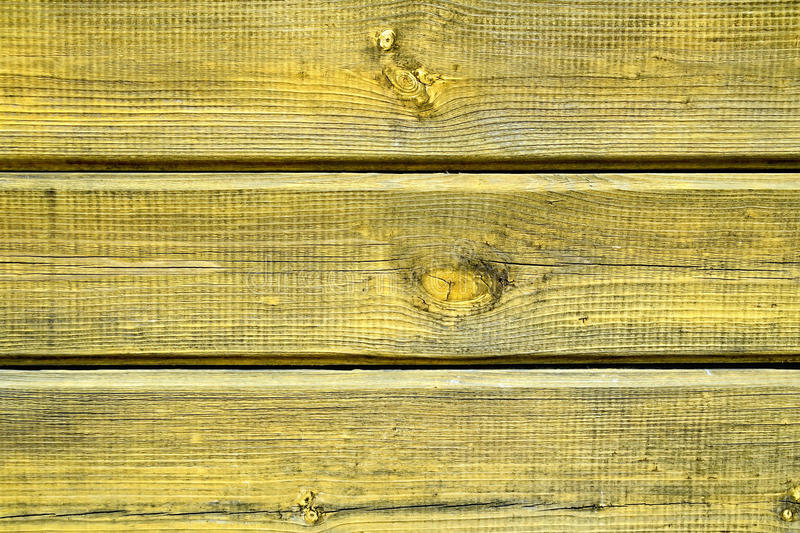 Boards yellow stock image