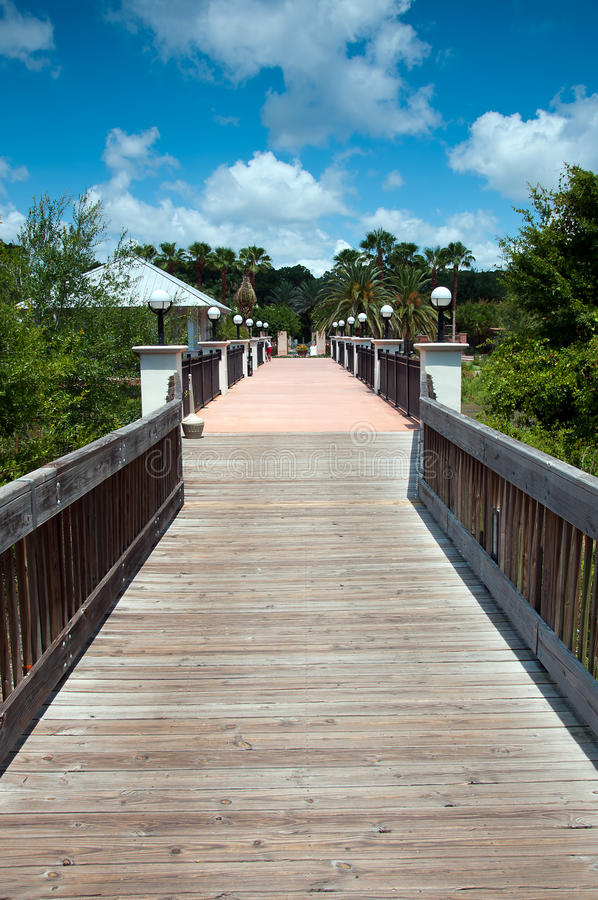 Download The Boardwalk stock image. Image of gardens, relaxation - 21027687
