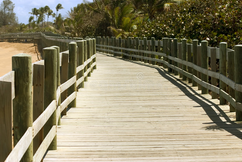Boardwalk royalty free stock photography