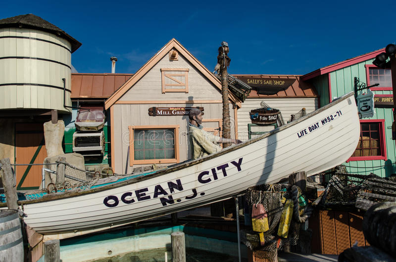 Boardwalk Kitsch royalty free stock photos