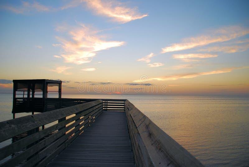 Download Boardwalk Over Laguna Madre Stock Image - Image: 4272961