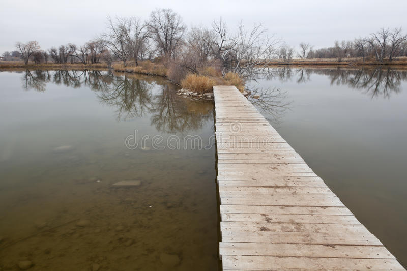 Download Boardwalk Pathway Over Lake And Swamp Stock Image - Image: 17088719