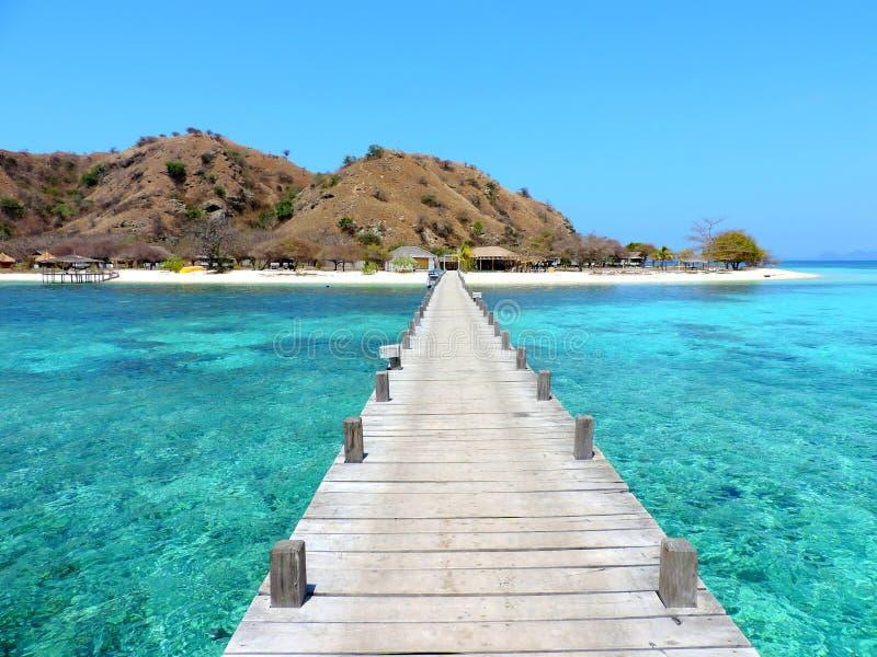 Boardwalk raj zdjęcie royalty free