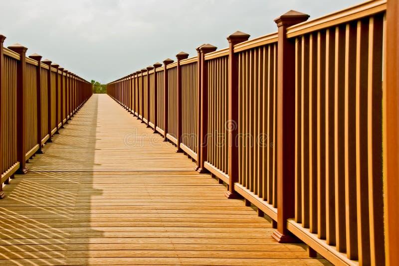 Boardwalk in sunlight