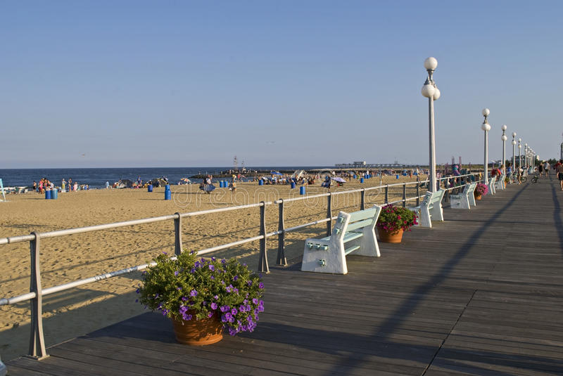 Boardwalk View stock photography