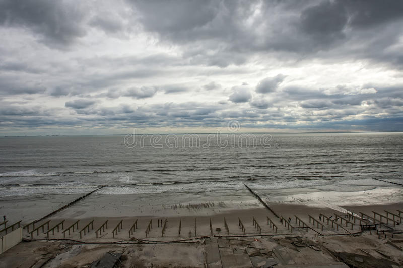 Download Boardwalk Was Washed Away During Hurricane Sandy Editorial Image - Image: 27489015
