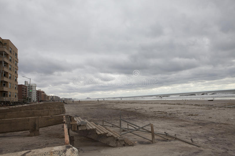 Download Boardwalk Was Washed Away During Hurricane Sandy Editorial Photo - Image: 27489126