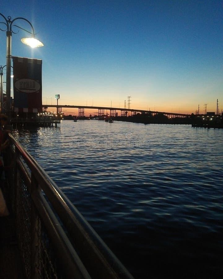 Boardwalk widoki zdjęcie stock