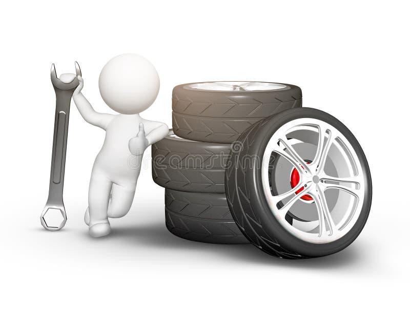 Boas rodas ilustração do vetor