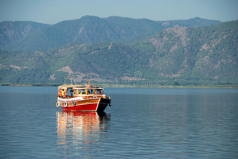 Daily Boat Royalty Free Stock Image