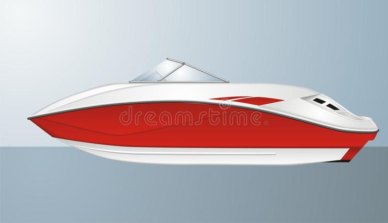Download Boat stock vector. Illustration of scroll, cruise, launch - 18075602