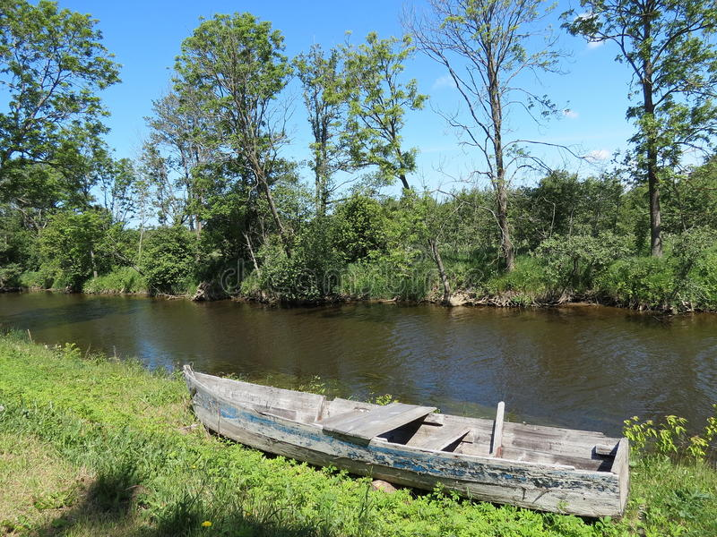 Download Boat stock photo. Image of lithuania, nature, water, boat - 25720130