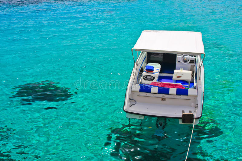 Download Boat stock image. Image of boat, turquoise, summer, mediterranean - 25938049