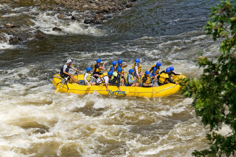 Download Boat stock photo. Image of paddle, wave, team, boat, whitewater - 260810