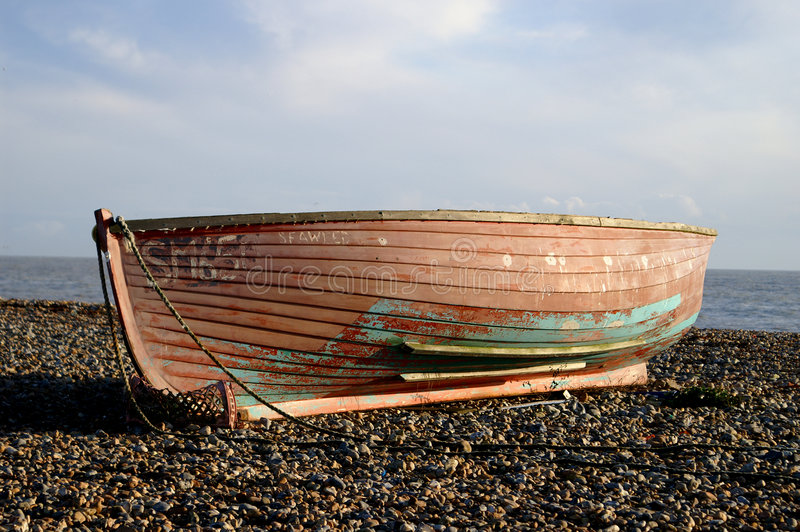 Download Boat stock image. Image of orange, blue, beach, boat, stones - 386921