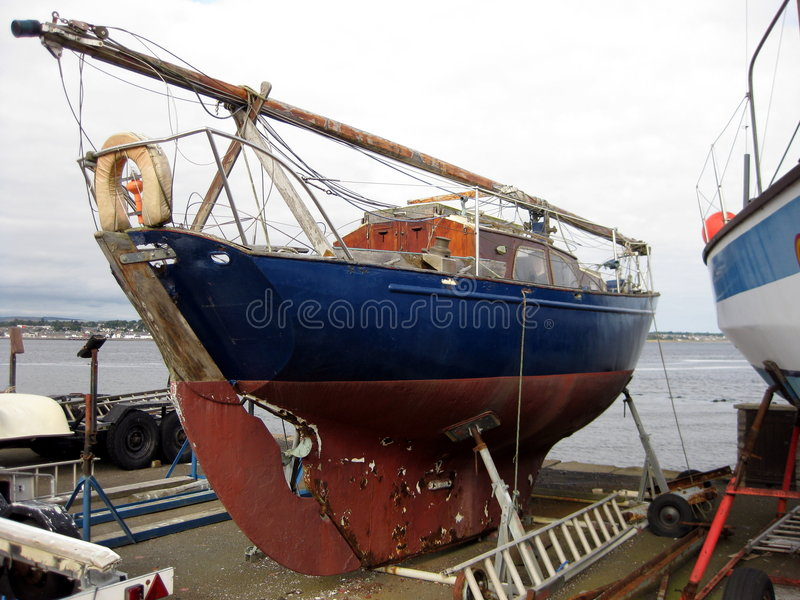 Download Boat stock photo. Image of beached, dilapidated, harbour - 6556608