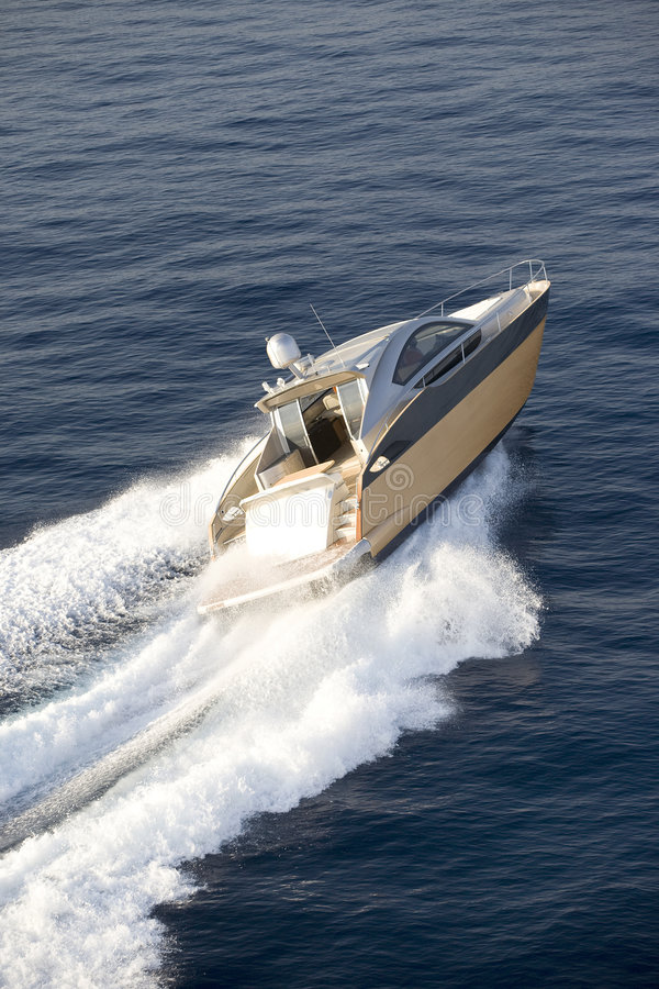 Download The boat stock image. Image of splash, fast, fish, coasting - 7936173