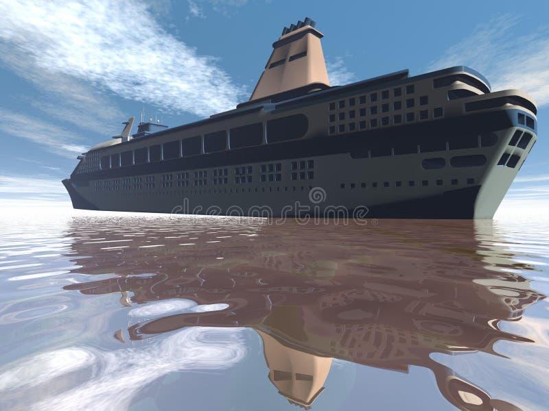 Download Boat stock illustration. Illustration of color, american - 43654184