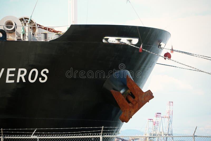 Boat anchor royalty free stock photos